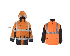 Warnschutz-Parka 5 in 1 Prevent Asatex
