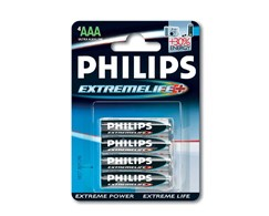 Batterien Extremelife Philips