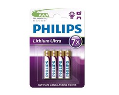 Batterien Lithium Ultra Philips