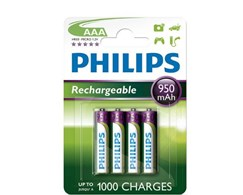 Batterien Multilife wiederaufladbar Philips