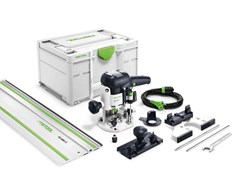 Oberfräse OF 1010 EBQ-Plus Set mit FS 800 Festool