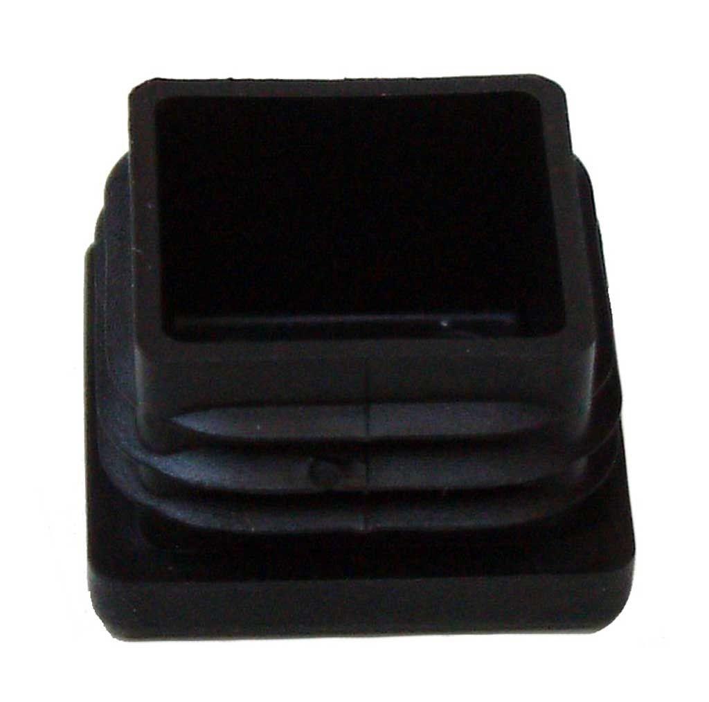 /Ø 13 mm // 5 mm 2 Kunststoff Vorreiber schwarz 50 mm lang